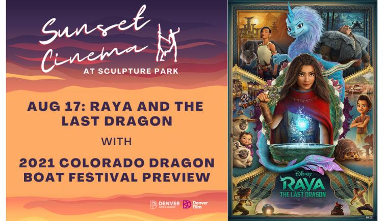 Sunset Cinema: Raya and The Last Dragon