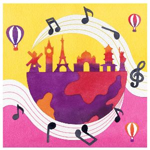 More Info for Tiny Tots In-Person: Music of the World
